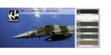 K4 FAB F-5 COLORS SET 1 (SEA PAINT)