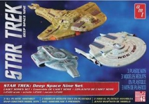 AMT 764 1:2500 STAR TREK CADET SERIES DEEP SPACE 9 SNAP
