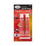 TESTORS 3509WM *25ML (7/8 OZ) CEMENT TUBES, CARDED (2 TUBES)