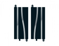 SCALEXTRIC C8246 SIDE SWIPES 350MM EACH