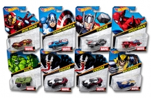 MATTEL BDM71 HOT WHEELS AVENGERS SURTIDO