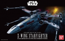 BANDAI 991406 STAR WARS 1:72 X WING STAR FIGHTER