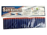 GIGATOYS 02*20 20PCS SOFT-BULLET WITH CUPULA