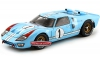 SHELBY 411 1:18 FORD GT40 1966 -1 LE MANS MILES-HULME