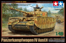 TAMIYA 32584 1:48 GERMAN PANZER IV AUSF.H LATE PRODUCTION