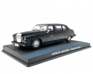 MAGAZINE JBDAIMLER-CR 1987 DAIMLER LIMOUSINE DS420 JAMES BOND CASINO RO...