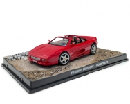 MAGAZINE JBFER355 FERRARI F355 GTS JAMES BOND GOLDENEYE , RED