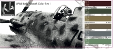 K4 WWII ITALY AIRCRAFT COLOR SET 1