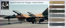 K4 AGGRESSOR COLORS SET 1 (FLOGGER - DESERT SCHEME)