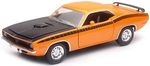 NEWRAY 71873 1:25 1970 PLYMOUTH CUDA (ORANGE)