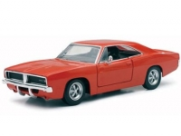 NEWRAY 71893 1:25 1969 DODGE CHARGER RT (ORANGE)