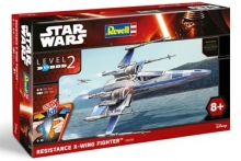 REVELL 851823 RESISTANCE XWING FIGHTER 1:50 JEDI STAR WARS