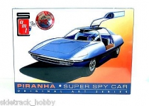 AMT 916 1:25 PIRANHA SPY CAR ORIGINAL ART SERIES