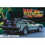 AOSHIMA 011850 1:24 DELOREAN FROM BACK TO THE FUTURE I