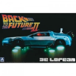 AOSHIMA 011867 1:24 DELOREAN FROM BACK TO THE FUTURE II