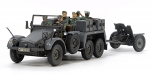 TAMIYA 32580 1:48 GERMAN 6X4 TOWING TRUCK KFZ.69 W/3.7CM PAK