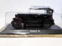 MAGAZINE LCGAZA GAZ A *LEGENDARY CARS* BLACK
