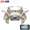 CHEERSON CX-10W MINI QUADCOPTER WITH WIFI - PHONE CONTROL 0.3 MEGA PIXEL