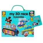 ALEX 1460 MY 3D RACE PUZZLES