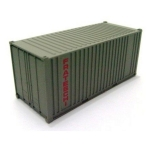 FRATESCHI 20753 SINGLE CONTAINER GREY