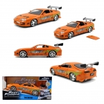 JADA 97168 FF 1995 TOYOTA SUPRA BRIANS FAST AND FURIOUS ORANGE 1:24