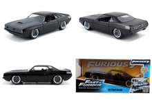 JADA 97195 FF 1970 PLYMOUTH BARRACUDA LETTY FAST AND FURIOUS