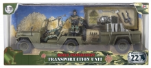 MCTOYS 77043 WORLD PAEACKEEPERS - TRANSPORTATION UNIT (2 FIGURE INCLUDED)