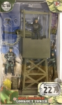 MCTOYS 77021 WORLD PEACEKEEPERS - LOOKOUT TOWER (3 MILITARY FIGURES INCLUDED)