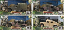 MCTOYS 77023 WORLD PEACEKEEPERS - MILITARY HUMVEE ( 2 MILITARY FIGURE INCLUDED)