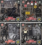 MCTOYS 77110 POWER TEAM ELITE - 3.75PULG S.W.A.T. FIGURE WITH ACCESSORIES.