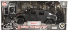 MCTOYS 77123 WORLD PEACEKEEPERS - 3.75PULG S.W.A.T. - HUMVEE WITH ACCESSORIES (2 FIGURES INCLUDED)