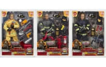 MCTOYS 90176 POWER TEAM ELITE - FIRE FIGHTER WITH ACCESSORIES.