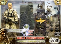MCTOYS 90609 WORLD PEACEKEEPERS - AIRBORNE TROOPER (HALO)