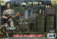 MCTOYS 90602 WORLD PEACEKEEPERS - DELTA FORCE PLAYSET
