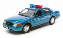 GREENLIGHT 12864 1:18 FORD CROWN VICTORIA 1908 - TWILIGHT FORKS, WA POLICE CAR