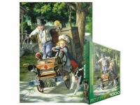 EUROGRAPHICS 6000-0439 HELP ON THE WAY BY BOB BYERLEY 1000-PIECE PUZZLE