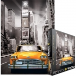 EUROGRAPHICS 6000-0657 NEW YORK CITY YELLOW CAB 1000-PIECE PUZZLE