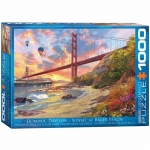 EUROGRAPHICS 6000-0697 SUNSET AT BAKER BEACH 1000 PIEZAS PUZZLE
