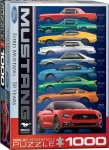EUROGRAPHICS 6000-0699 FORD MUSTANG 9 MODEL 1000-PIECE PUZZLE