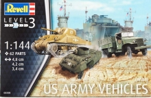 REVELL 03350 US ARMY VEHICLES (WWII) 1:144