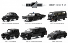 GREENLIGHT 27780 1:64 BLACK BANDIT SERIES 12 ASSORTMENT