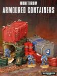 WARHAMMER 99120199038 ARMOURED CONTAINERS