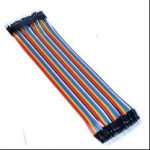 ZMXR 30CM MALE TO MALE 40PIN SOLDERLESS JUMPER BREADBOARD WIRES