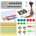 ZMXR ELECTRONICS FANS PARTS COMPONENT PACKAGE KIT 03 FOR ARDUINO STARTER COURSES