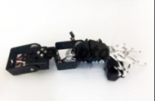 ZMXR 4 DOF MECHANICAL ARM STEERING GEAR BRACKET 4 AXIS MECHANICAL CLAW (SERVOS NO INCLUIDOS))