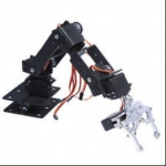 ZMXR 5 DOF MECHANICAL ARM 3D ROTATION 5 AXIS STEERING GEAR BRACKET (SERVOS NO INCLUIDOS))