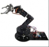 ZMXR 6 DOF MECHANICAL ARM 6 AXIS 3D ROTATION ROBOT BRACKET CHASSIS (SERVOS NO INCLUIDOS)