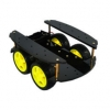 ZMXR SMART CAR CHASSIS (4-WHEEL BODY)4WD - 4 WHEEL DRIVE CAR CHASSIS