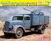 DRAGON 6828 1:35 GERMAN 3T 4X2 TRUCK W-2CM FLAK 38 SMART KIT