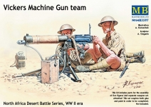 MB 3597 VICKERS MACHINE GUN TEAM 1:35